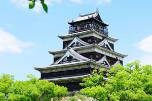 写真:広島城